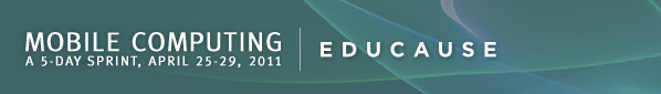 EDUCAUSE Mobile Computing 5-Day Sprint