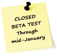 Closed BETA Test Through Mid-January